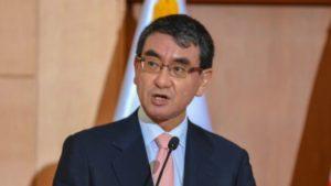 快讯:日本外相河野称日中韩不应停止合作