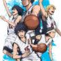 TV动画《篮球少年王》九头龙高中5人集结关键视觉图公开