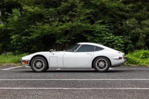 1969年2000GT 再次挑战日本车最高拍卖纪录
