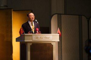 西日本中国留学人员献礼国庆70周年报告表彰会在大阪举行