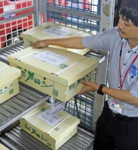 日本邮便等出口业务首批高知县产甜瓜发往香港