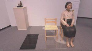 快讯:爱知三年展中止象征原慰安妇的少女像展示