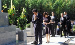 追踪安倍晋三首相(13日)