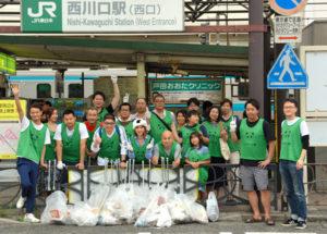 埼玉县一中国料理店主发起清洁街区活动 吸引数十人每月参加