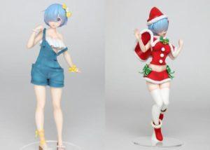 RE0:蕾姆双景品实物图公开 泳装工作服和圣诞礼服 是双倍的快乐