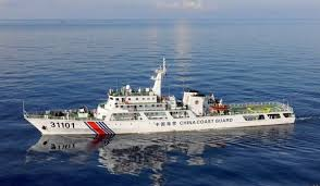 中国海警船一度驶入尖阁领海 为今年第22天