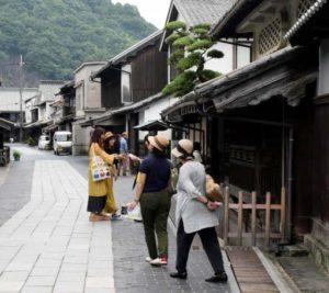广岛竹原传统街景吸引各类游客 偶像广告等效应明显