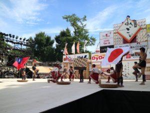 日本高知夜来祭台湾学童舞蹈吸睛