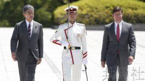 美国防部长称尚未探讨在亚太地区部署中程导弹