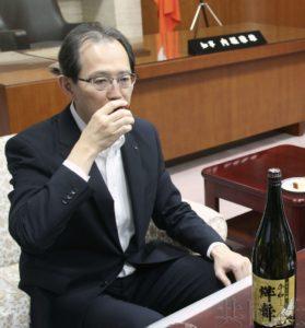 """福岛县为支援灾区酿造的""""绊舞""""酒已制成"""