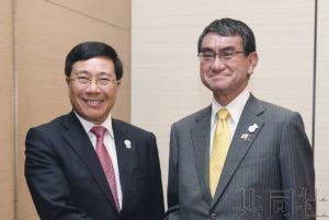 日越外长商定推进日本与东盟合作
