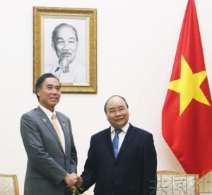长野县知事与越南总理会谈 确认合作接纳人才