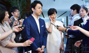 详讯2:小泉进次郎将与泷川克里斯汀结婚 已报告安倍
