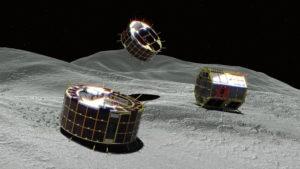 隼鸟2号将向小行星释放第三台小型机器人