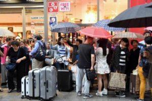 中国人国庆旅游目的地日本连续两年位列第一