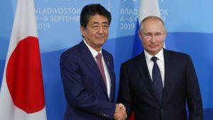 快讯:安倍与普京会谈 称双边协议正在落实