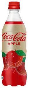 可口可乐公司在日本发售苹果味可乐