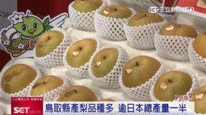 中秋不只柚子!日鸟取县新甘泉梨多汁甜脆来台抢甜蜜商机