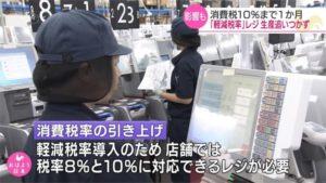 日本十月消费税涨至10% 民众夏天先抢买羽绒衣