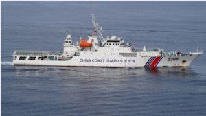 中国海警船一度驶入尖阁领海 为今年第25天