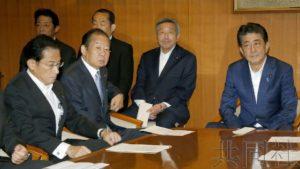 详讯:安倍表示11日将改组内阁并调整自民党高层人事