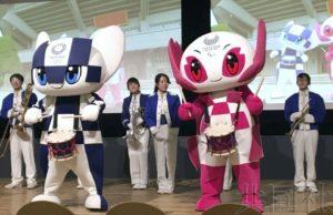 东京奥组委公布为选手加油的统一节拍