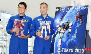 日本拟送上太空的高达模型试制品向媒体公开