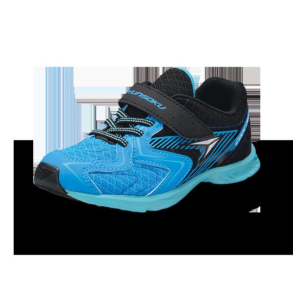 左回りの徒競走で速く走るために開発された左右非対称ソールの運動靴『瞬足』【連載:アキラの着目】