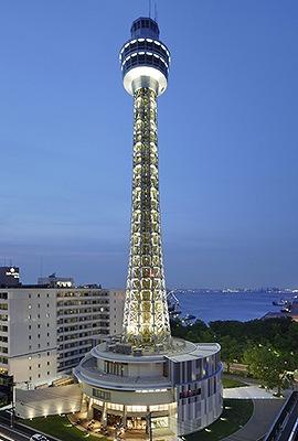 横浜マリンタワー(106m 神奈川県横浜市) 全日本タワー協議会HPから引用