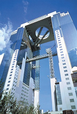 空中庭園展望台(173m 大阪府大阪市) 全日本タワー協議会HPから引用