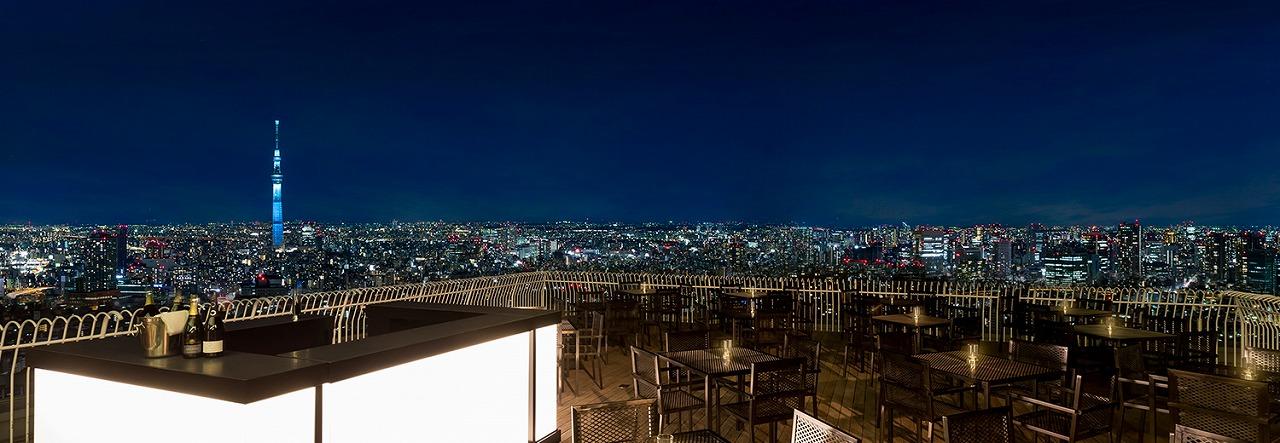 [9/30まで]東京夜景No.1の天空ビアガーデン、聖路加タワー47階・レストランルーク【連載:アキラの着目】