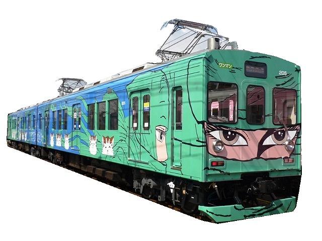 忍者(NINJA)が車内に!伊賀鉄道伊賀線「忍者列車」(三重県上野市)【連載:アキラの着目】