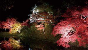 不到青森县不知日本之美!超人气赏枫景点「弘前城菊花与红叶祭」10/18开跑