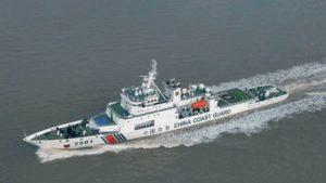 中国海警船一度驶入尖阁领海 为今年第27天