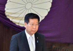 快讯:冲绳北方担当相参拜靖国神社