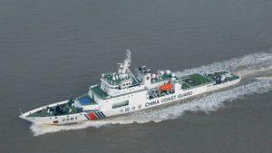 中国海警船一度驶入尖阁领海 为今年第26天