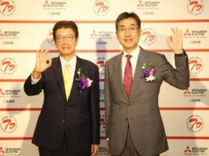 三菱电机重视台湾与全球四大分公司并驾齐驱
