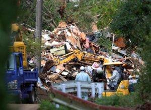 日本灾害垃圾堆如山清理要花数年