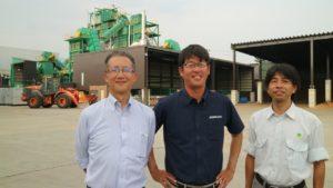 永续能源之路/三人四脚催生日本生质能电厂