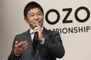 才卖掉一家公司日本富豪前泽友作立马成立新公司