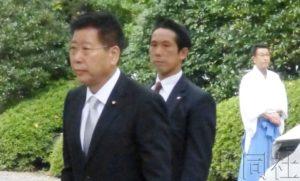 详讯2:冲绳北方担当相参拜靖国神社