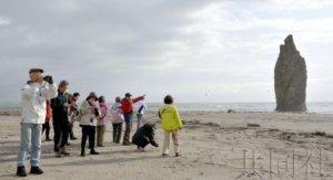 北方四岛首次观光游启动 日俄试行共同经济活动