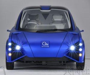 日本研发出使用蓝色LED材料驱动电动汽车