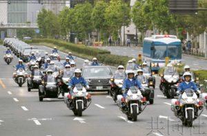 东京举行天皇即位巡游实地彩排