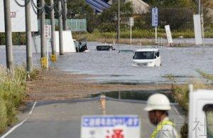 """台风""""博罗依""""灾害死者半数在车中遇难"""