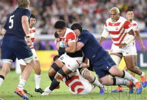 热点:日本橄榄球队闯入八强 终结失败历史