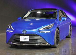 丰田明年底将发售燃料电池车MIRAI下一代车型