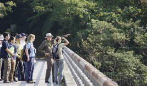 UNESCO咨询机构专家考察申遗候选地冲绳北部