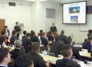 日本海自与西太海军青年军官交流项目启动