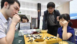 日本围棋少女仲邑堇国际赛不敌中国棋手